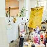Photos for painter Monika Niebergall