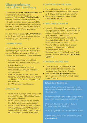 Website. Flyerdesign & Photos. LAX VOX® - explained by Stephanie A. Kruse