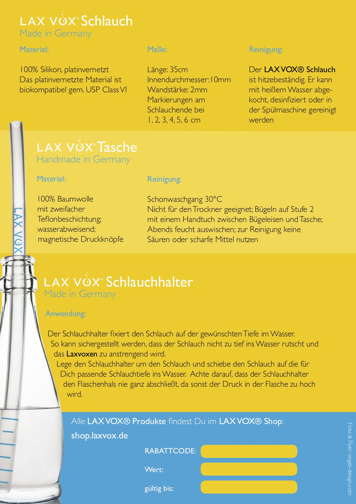 LAX VOX® - explained by Stephanie A. Kruse