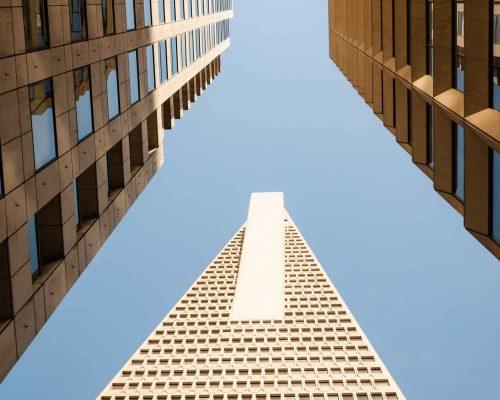 Downtown - Transamerica Pyramid Building - San Francisco